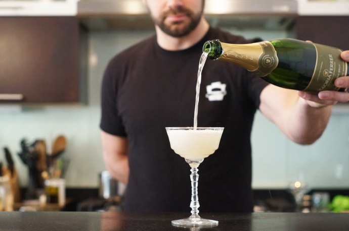 Home Bar Project: How to Make a French 75 - New Jersey ...