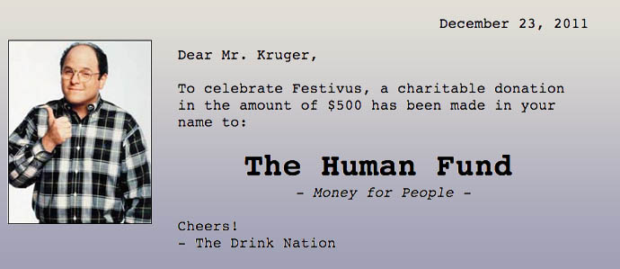 Presenting the (Unofficial-Please-Don't-Sue-Us) Festivus Cocktail