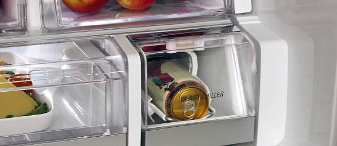 Dispatch from CES: New LG Fridge Chills Beer in Record Time