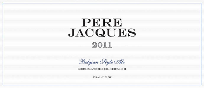 Beer Review: Goose Island Pere Jacques