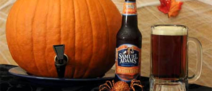 Halloween Party: How to Make a Pumpkin Keg