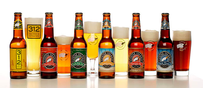 Anheuser-Busch Outsources Production of Four Goose Island Beers