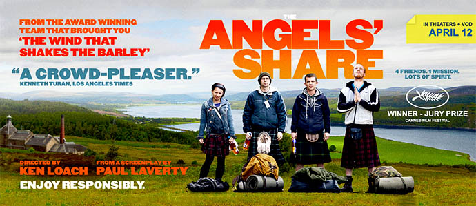 The Angels' Share: A Movie About Whiskey, Talent, Fun and Luck