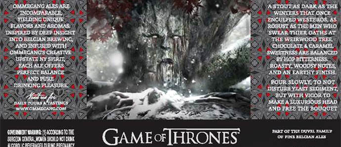 Brewery Ommegang Announces Second Game of Thrones Beer