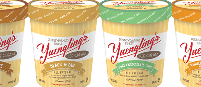 Yuengling's Ice Cream on Tap for a Mid-February Rollout