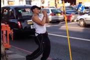 Video of Drunk Guy Fighting a Bus Stop Sign Serves as a Good Reminder to Drink Responsibly