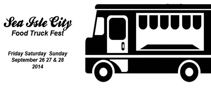 Beer and Cocktails Meet International Cuisine at Sea Isle City's First Food Truck Festival, Sept. 26-28