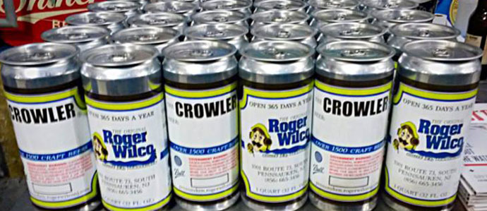Crowlers Hit the South Jersey Market