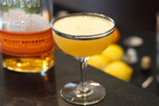 Home Bar Project: How to Make a Whiskey Sour