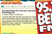 Drink Philly Interview with Marilyn Russell on Ben FM