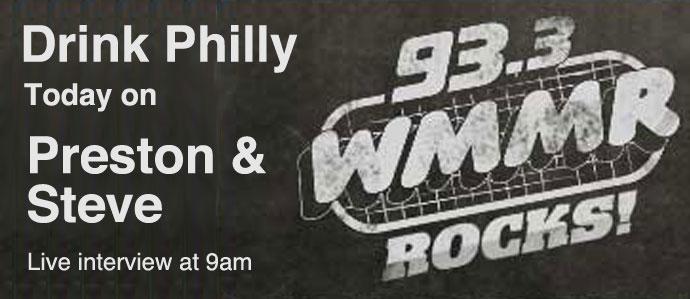 Drink Philly Interview on Preston & Steve Show