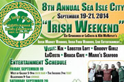 It's Easy Being Green at the 8th Annual Irish Festival in Sea Isle City, Sept. 19-21