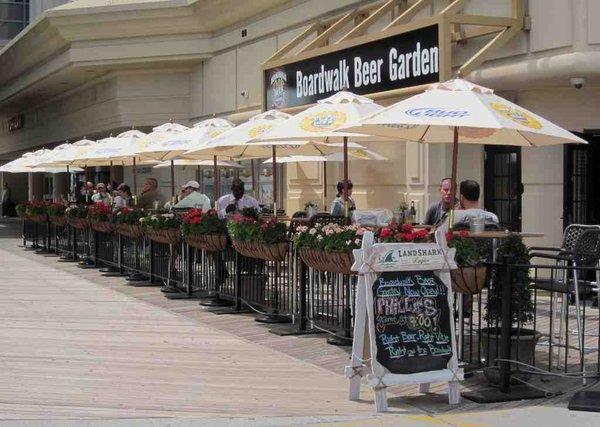 Bars New Jersey Shore Boardwalk Beer Garden New Jersey Shore